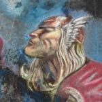 Thor Chalk Art – a Marko Djurdjevic recreation
