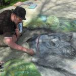 Earth Fest Chalk Art 2009