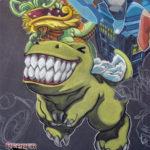 Otakon 2008 Chalk Art