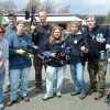 Illustrator, Cartoonist and Chalk artist Eric Maruscak relaxes by playing a little paintball with some close friends.