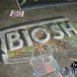 Wizard World Chicago 2007 Bioshock Chalk Art Mural