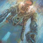 PAX 2009 Bioshock 2 Chalk Art Mural