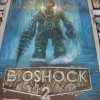 Bioshock 2 chalk art mural by illustrator Eric Maruscak, sponsored by 2K Games at the 2009 Penny Arcade Expo.