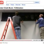VIDEO: NY Anime Soul Eater Chalk Art unveiled at the FUNimation Offices