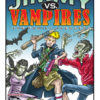 Jimmy vs. Vampires Book Cover. Illustration by cartoonist Eric Maruscak.