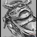 """ADS #1 – """"Where the Wild Things Are"""" inspired monster"""