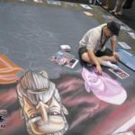 Star Wars Celebration V Chalk Mural Photos