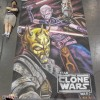 Artist Eric Maruscak makes a Star Wars chalk mural at Celebration V in Orlando Florida for Season 3 of the Clone Wars. Revealed in the mural for the first time to the public is new character Savage Oppress, brother of Darth Maul.