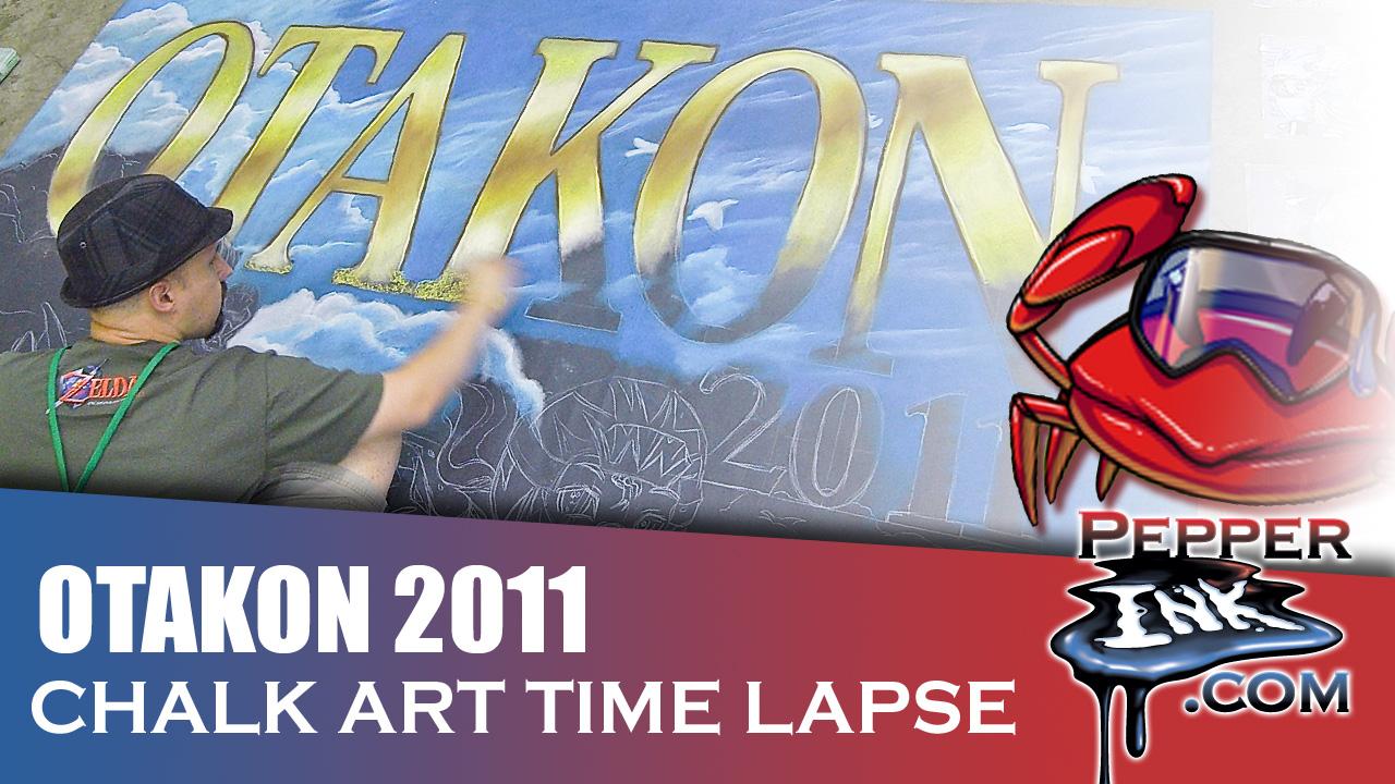 Otakon 2011 Chalk Art Thumbnail