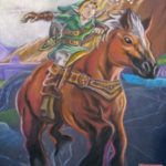 Photos from San Diego Comic Con – The Legend of Zelda: Ocarina of Time Chalk Art