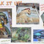 Artizen Magazine Chalk Art Article