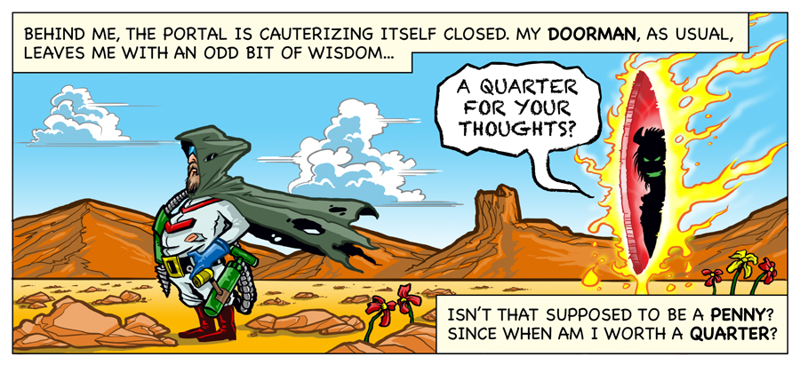 Illustrator Eric Maruscak creates a web comic in honor of the 30th anniversary of Dig Dug for shiftylook.com.
