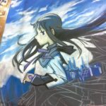 Anime Central Photos – Madoka Magica Chalk Art