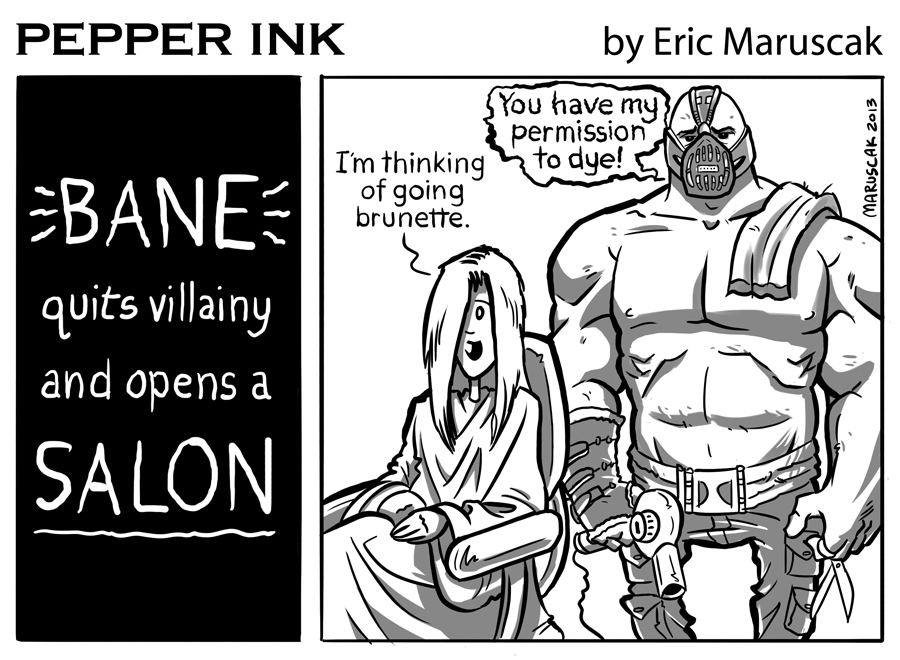 Pepperink - The webcomic by cartoonist Eric Maruscak.