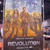 Revolution chalk art for NBC by illustrator Eric Maruscak.