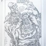 Hellboy Original for C2E2 Art Auction