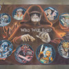 Chalk art for the Clone Wars, Season 5 by artist Eric Maruscak.