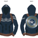 Marvel Films Hoody Designs for San Diego Comic Con