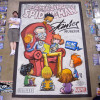 2015 Stan Lee Amazing Spider-man cover art, original by Skottie Young, chalk art by illustrator Eric Maruscak.