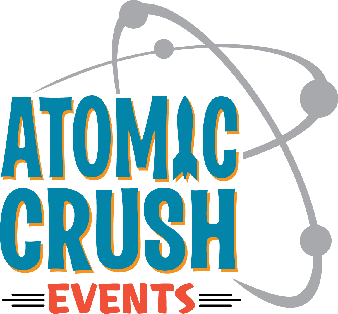 Atomic Crush Events Logo