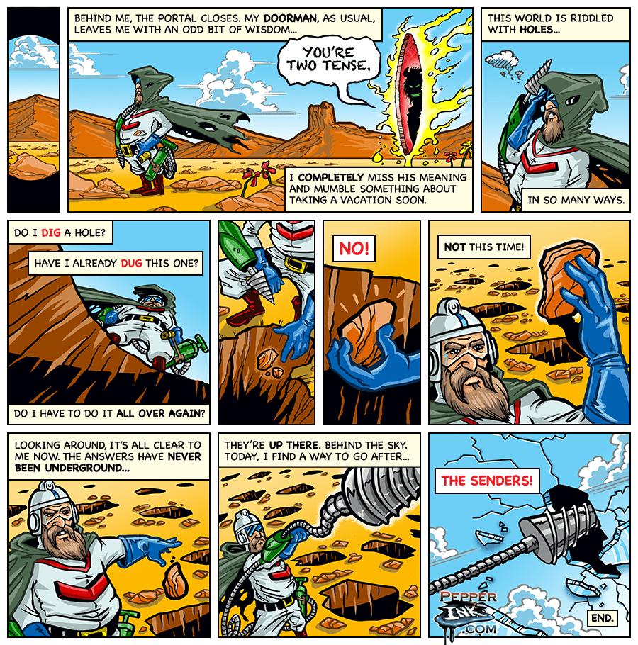 Dig Dug Webcomic Part 3