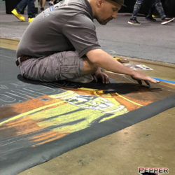 Anime Central 2018 Chalk Coloring 2