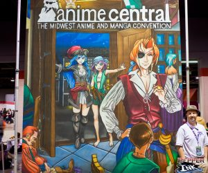 Anime Central Chalk Art Final Image