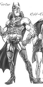 Ban-n-Furter sketch drawing