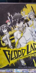 Chalk Art Blood Lad at Anime Central