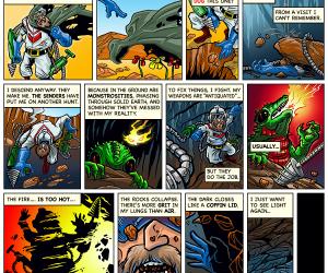 Dig Dug Web Comic Part 2