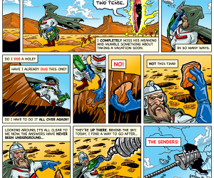 Dig Dug Webcomic Part 3