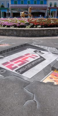 Chalk Art 3D iPad for ESPN XP