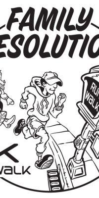 Run Walk Cartoon Drawing
