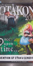 Chalk Art Anime Red Riding Hood at Otakon 2015