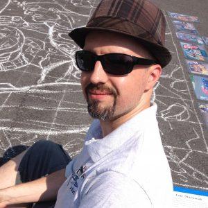 Artist Eric Maruscak