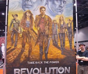 Chalk Art Revolution for NBC at C2E2