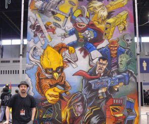 Chalk Art Video Games Reborn for Shifty Look at C2E2