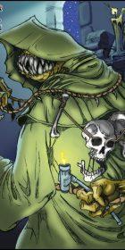Skull Reaper creature illustration