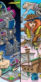 Toy Fair Kids and Toys Cartoon