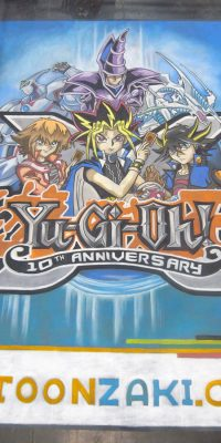 Calk Art Yu-Gi-Oh! at the New York Comic Con