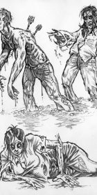 Zombie sketches