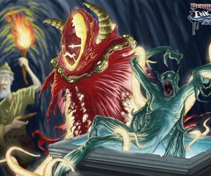 vampire killer creature illustration