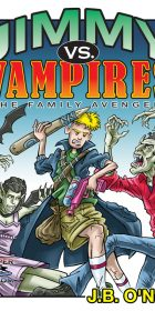 jimmy vs vampires book cover cartoon