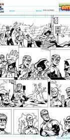 The Gutters Webcomic 2 Sketch